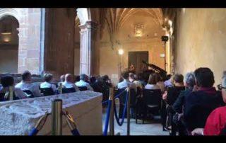 El concierto del Museo Arqueológico de Oviedo, en memoria de las víctimas del atentado de Barcelona