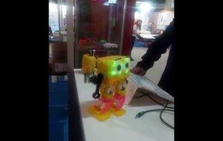 Myarmario presenta un robot lúdico en la Feria de Muestras de Gijón